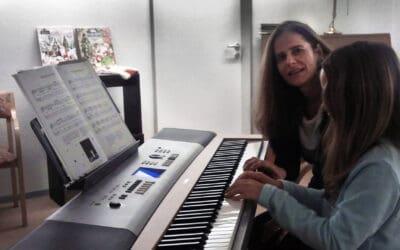Keyboard-Unterricht